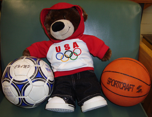 Parker T. Bear, Recreation Department Mascot