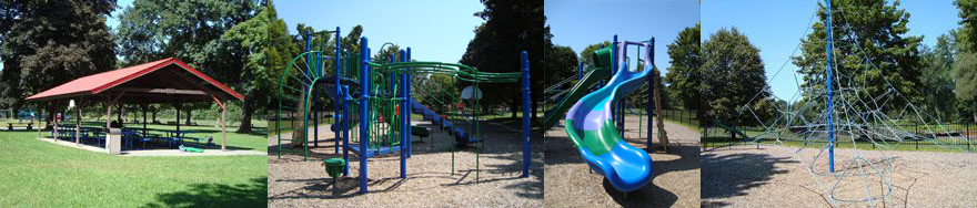 Green River Pavillion and Playground Area