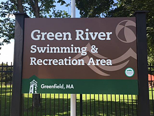 Green River Sign