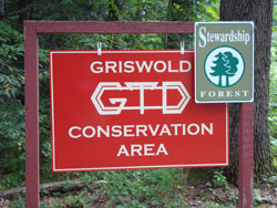 Griswold Trail Sign