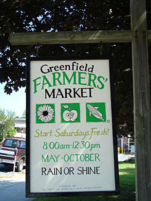 Farmers' Market Sign